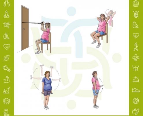 تمرینات ورزشی جهت تقویت عضلات در طول حاملگی