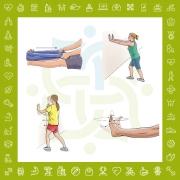 تمرینات ورزشی در درمان شلی و ناپایداری (Laxity) مزمن مچ پا