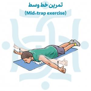 حرکت خط وسط در تمرینات ورزشی در درمان درد بالاتراز کمر