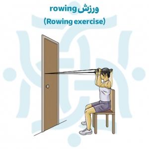 تمرینات ورزشی جهت رفع کشیدگی و یا اسپاسم عضله رومبوئید