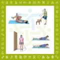 تمرینات ورزشی برای درمان سندرم پیریفورمیس
