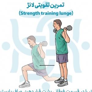 تمرین تقویتی لانژ