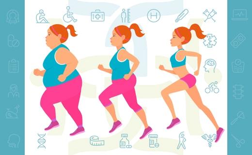 برنامه ورزشی تضمینی برای تناسب اندام (کاهش وزن)