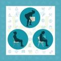 جلوگیری از کمر درد در خانه و محل کار