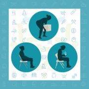 جلوگیری از درد کمر در خانه و محل کار