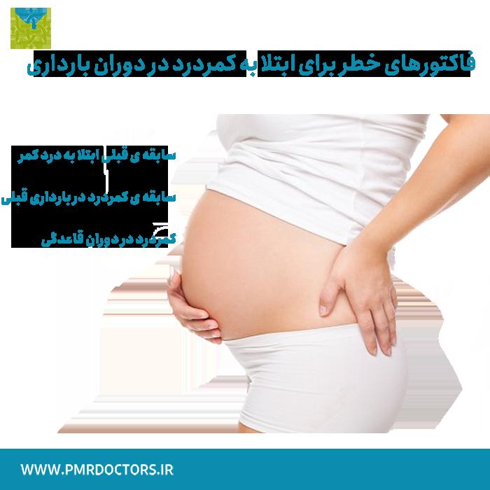 کمر درد در بارداری - خطرات کمر درد در دوران بارداری