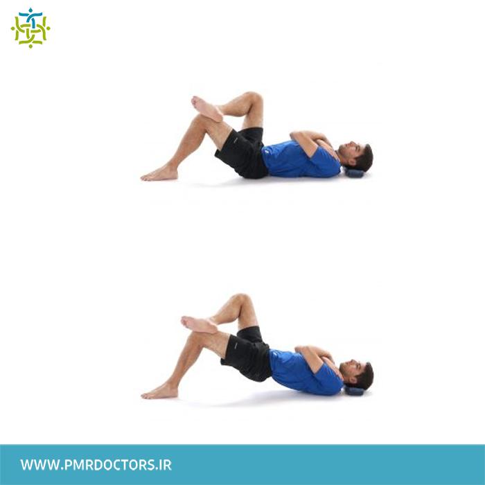 10.تقویت عضلات ناحیه ی باسن:
