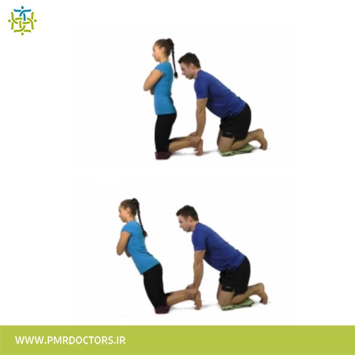 13.بلند شدن به کمک عضلات باسن و پشت ران
