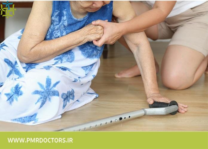 شایعترین علل سقوط و افتادن در افراد مسن
